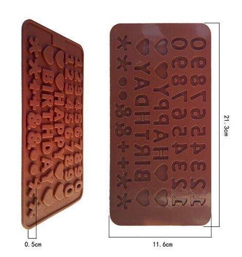 chocolate mold happy birthday