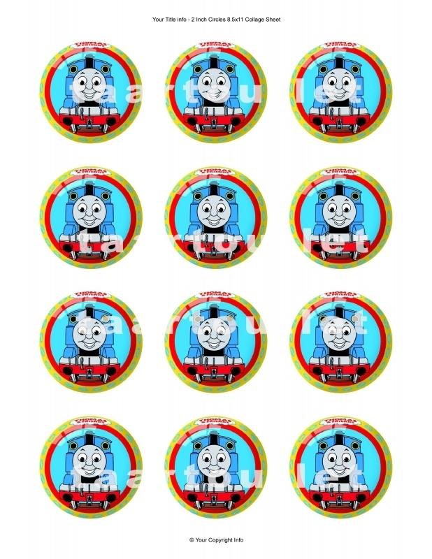 Thomas 2 cupcake