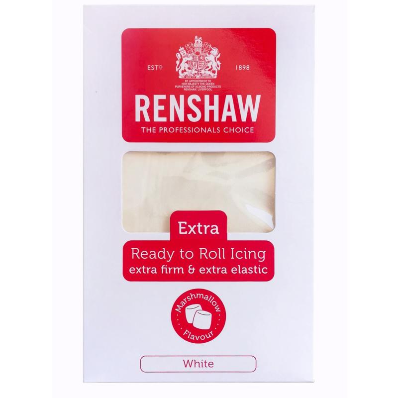 Renshaw Rolfondant Extra 1kg Wit Marshmallow