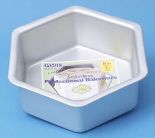 PME HEX103 Deep Hexagon Cake Pan 25 x 7,5cm
