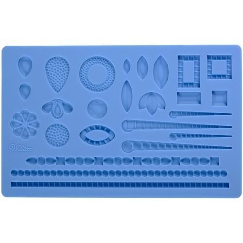 Wilton 409-2528 Fondant & Gum Paste Mold Jewelry