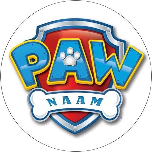paw patrol 3 met naam