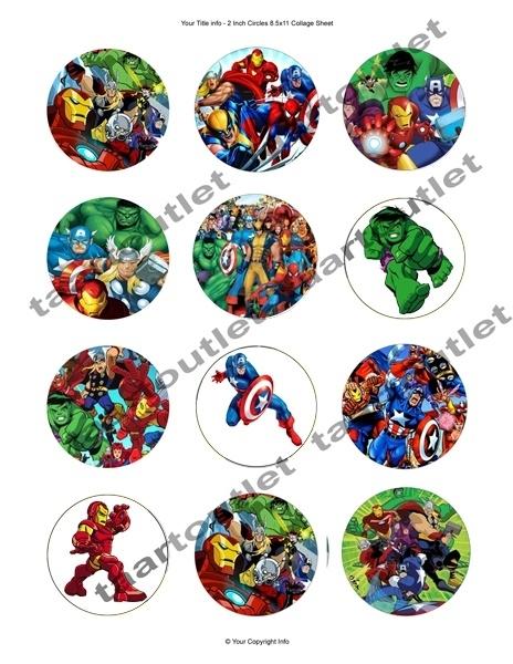 Superhelden cupcake 4