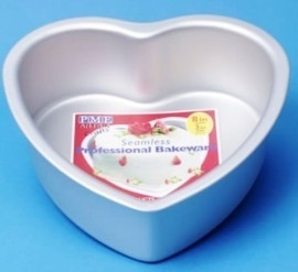 PME HRT123 Heart Extra Deep Cake Pan 30 x 7,5cm