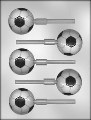 CK 90-6212 SOCCER BALL SUCKER CHOC MOLD