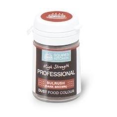SK CL01A230-25 Professional Food Colour Dust BULRUSH DK BROWN