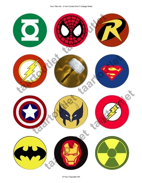 Superhelden cupcake 3