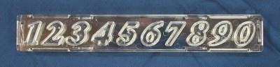 Windsor Clikstix number cutter Script CS03