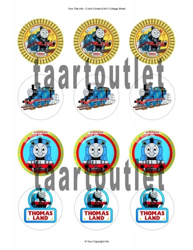 Thomas 5 cupcake
