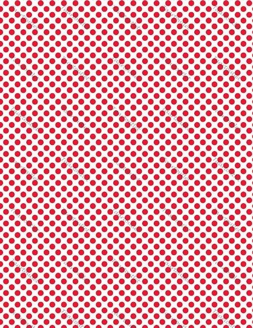 Polkadot rood