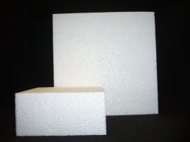 Taartdummie vierkant 35x10 cm