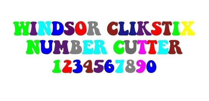Windsor Clikstix Groovy numbers CG03