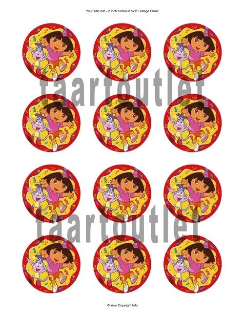 Dora 1 cupcake