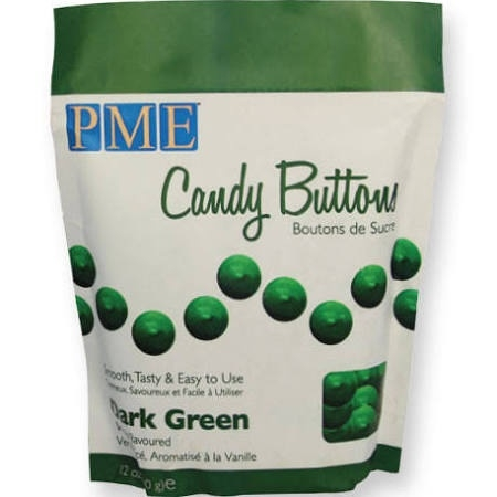 PME CB012 Candy Buttons  Green 340 gr.