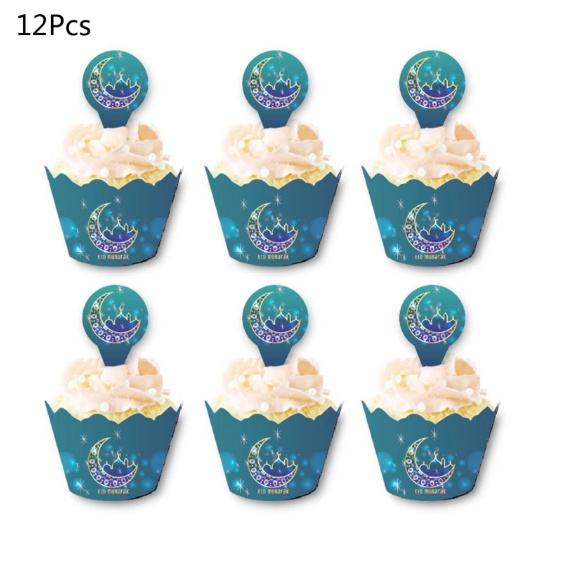 Cupcake wrappers en toppers - CC 305