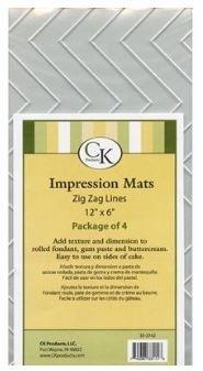 CK 35-2742 Impression Mat-ZIGZAG