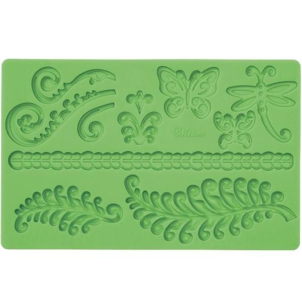 Wilton 409-2548 Fern Fondant and Gum Paste Mold