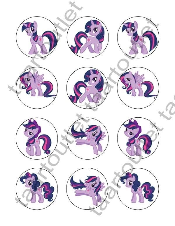 My Little Pony cupcake 1