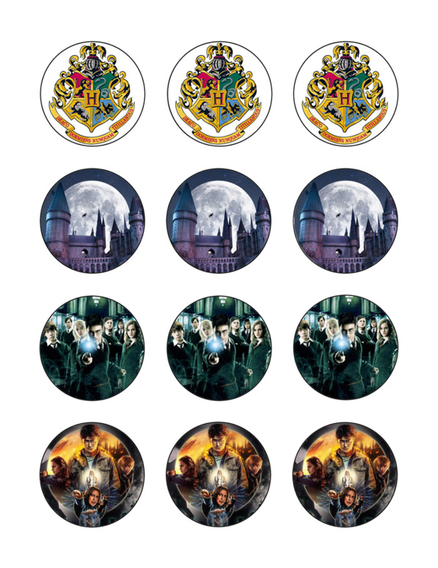 Harry Potter cupcake 1