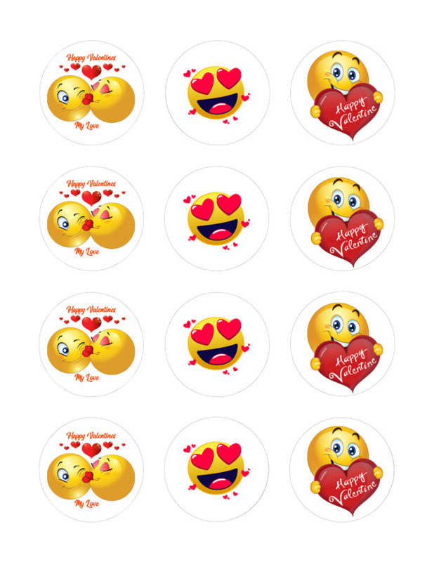 Valentijn  cupcake  voordeel pakket 4
