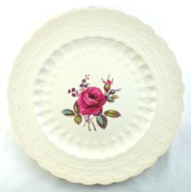 Dinerbord (26,5 cm.) - Spode Jewel Billingsley Rose