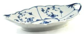 Ovale Schaal met Greepjes  23,3 cm. (1894) - Rauensteiner Porzellanfabrik