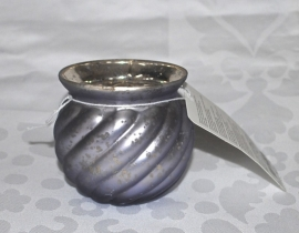 Glazen Waxinelichthouder Klein (NIEUW)