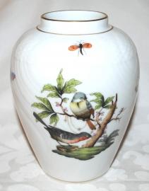 Vaas (15,5 cm.) - Herend Rothschild Bird
