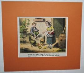 """Prentenboek Afbeelding """"In de Speeluren - no 126"""""""