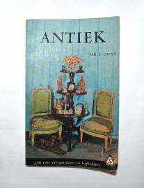 Antiek - mr. F. Dony