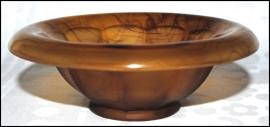 Schaal no 248D Amber (14,2 cm.) - George Davidson & Co