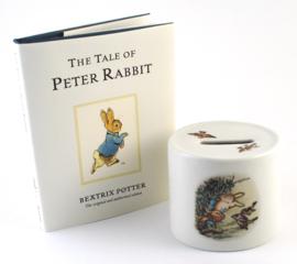 Geschenkset Spaarpot - Wedgwood Peter Rabbit