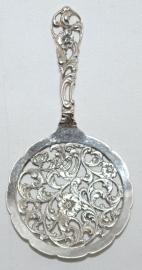 Zilveren Petit Four Schep