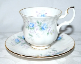 Mokkakop & Schotel Blue Blossom - Royal Albert