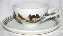 Espressokop & Schotel Pansy - Portmeirion Botanic Garden