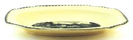 Zuurschaal (23,8 cm.) - Societé Ceramique Maestricht Landschap