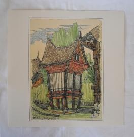 Besaki (Bali) -  H.P. Berlage