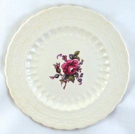 Ontbijtbord (20 cm.) - Spode Jewel Billingsley Rose