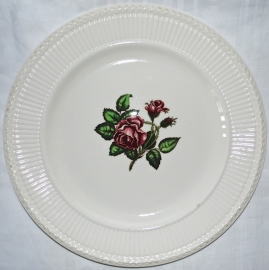 Presenteerbord (32 cm.) - Wedgwood Moss Rose