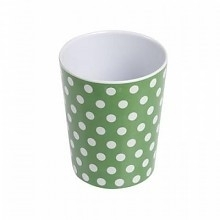 Beker Melamine Green Spotty - Rexinter