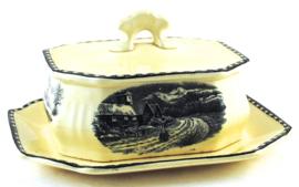 Botervloot - Societé Ceramique Maestricht Landschap