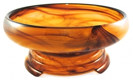 2-Delige Set Amber no 20 (27 cm.) - George Davidson & Co