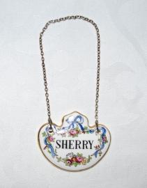 Karaflabel Sherry - Staffordshire Ware
