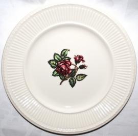 Ontbijtbord (23 cm.) - Wedgwood Moss Rose