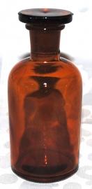 Apothekersfles met Stop (11,4 cm.)