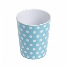 Beker Melamine Blue Spotty - Rexinter