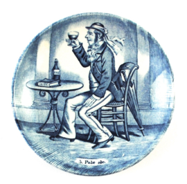 Bordje Pale Ale (11 cm.) - Boch Delfts