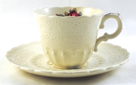 Espressokop & Schotel - Spode Jewel Billingsley Rose