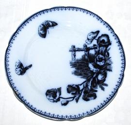 Bord (23,5 cm.) Malaga - Petrus Regout