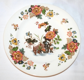 Ontbijtbord (21 cm.) Eastern Flowers - Wedgwood